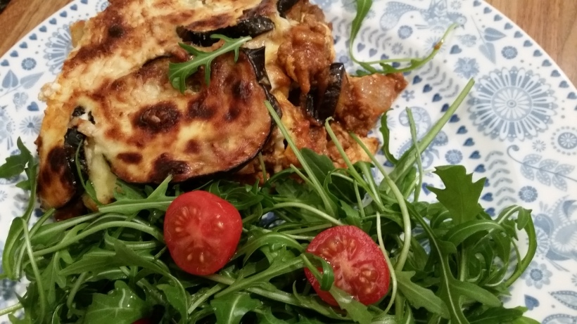 Low carb moussaka