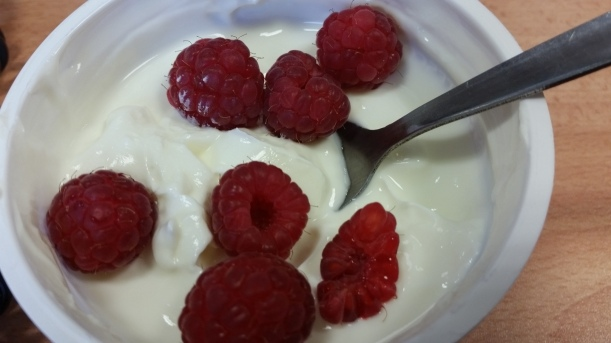 More berries and full fat yogurt